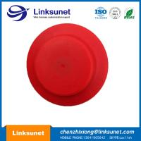 China Sensor Cover Plastic Injection Molding PVC / ABS  / PE RED Plastic Housing Mold wholesale
