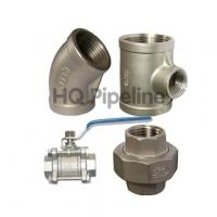 China Stainless steel threaded pipe fittings wholesale