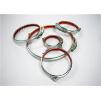 China Quck Release Durable Galvanised Tube Clamps , Seamless Galvanized Steel Pipe Clamps wholesale