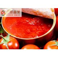 China Sweet And Sour Canned Tomato Paste Tomato Ketchup Without Preservatives wholesale