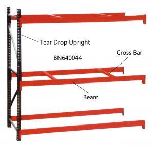 China BN640034 Industrial Pallet Racks Heavy Duty Warehouse Shelving 2 Inch Adjustable Beam wholesale