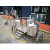 China 10 BBL Industrial Beer Brewing Equipment , Microbrewery Brewing Equipment wholesale