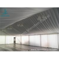 China Air Conditioning Outdoor Event Tent , Beautiful Outside Event Tents Luxury Linings wholesale