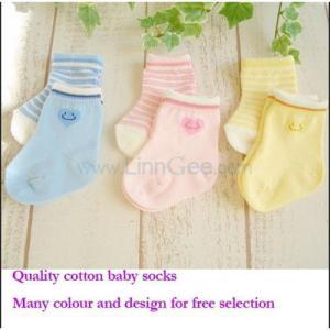 China 100% Cotton Baby Socks wholesale