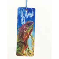 China Cartoon 3D Lenticular Bookmark , Custom Bookmark With Tassel Animal Style wholesale