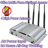 China 4 Antenna High Power Mobile Phone 3G/GSM Signal Jammer AC Power Home Office Signal Blocker wholesale