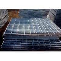 China Electro Galvanized Metal Grating 25 X 3mm Oil Proof For Building Material wholesale
