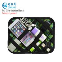 China Custom Nylon Electronic Travel Grid It Organizer Multi Color 35*14 Cm on sale