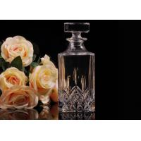 China Hand Made Colored Glass Wine Bottles With Corks , Luxury Wine Bottle wholesale