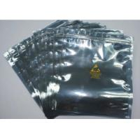 China Resealable Anti Static Shielding Bags , Customized ESD Shielding Bag With Zip Lock wholesale
