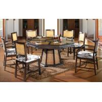 China bamboo rattan chair table set, dining set, classic chair table set, #1135 on sale
