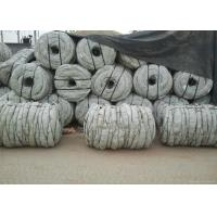 China Hot Dip Galvanized Coiled Barbed Wire With Double Twist Q195 Iron Multicolors wholesale