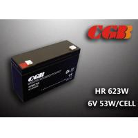 Quality HR653W 6V 13AH Valve Regulated Lead Acid Battery Maintenance Free For Alarm for sale