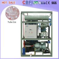 China Durable Ice Maker Tube Frozen CBFI TV10 - TV300 Automatic Ice Machine  wholesale