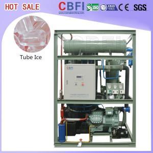 China Durable Ice Maker Tube Frozen CBFI TV10 - TV300 Automatic Ice Machine wholesale