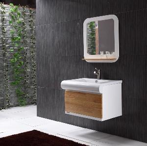 China Solid Wood Bathroom Cabinet / Furniture / Vanity (MJ-061) wholesale