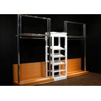 Quality Durable Metal Display Racks Clothing Boutique For Men Retail Shop Display for sale