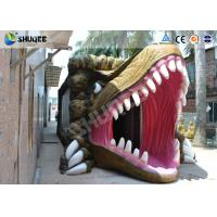 China Dinosaur Movie Theater Equipment With Red Comfortable Chairs wholesale