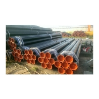 China 1''-24'' API 5L ERW Steel Pipe Gas Line Pipe/EN10210 ERW Welding Round Profile Steel Pipe/welded carbon steel pipe wholesale