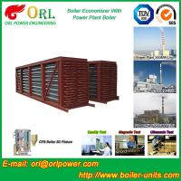 China Steel Condensing Economiser In Steam Power Plant , Economizer Power Plant wholesale