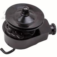 China JM2000C Power Steering Pump W/Single Groove Pulley For GM SBC for Chevy Black Saginaw Style 26028613 on sale