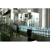 China 3 In 1 Automatic Water Filling Machine 3000 Bottles Per Hour One Year Warranty wholesale