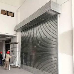 China Protection Rolling Door Sliding Door Roll up Garage Door for/Vehicles/Cars/Buildings wholesale