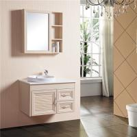 China 800*500mm Size Bathroom Sinks And Vanities Aluminum Alloy Material With Mirror Cabinet wholesale