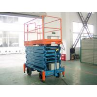 China 14 Meters Hydraulic Mobile Scissor Lift with 500Kg Loading Capacity wholesale