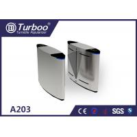 China Running Stable Flap Barrier Gate / Turnstile Entry Systems No Mechanical Impact wholesale