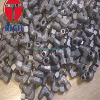 China Carbon Steel Tube Machining Thread Elbow Connector TCT06-02R For Oiled Tubes wholesale