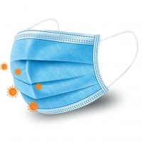 China Water Proof Non Woven Breathing Non Woven Face Mask wholesale