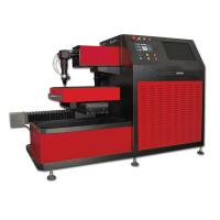 China Small CNC Laser Cutter for Saw Blade , Ironware Cutting Gas Oxygen Nitrogen or Air on sale