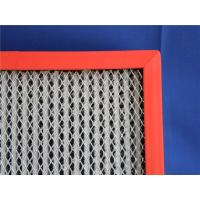 Quality High Temperature Resistants Hepa Panel Filter With 99.99% Fiber Glass Paper for sale