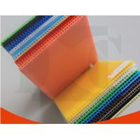 China Opaque Aging Resistance PP Flute Board Coroplast Sheets For Packing Boxes wholesale