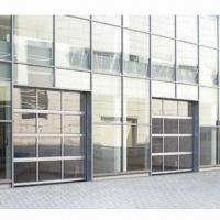 China Organic Full Glazed Panoramic Garage Door with Safety Devices and Specific Design Features wholesale