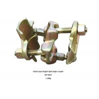 China Italian type Golden , Red scaffold double coupler forged right angle coupler wholesale
