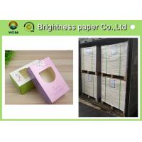 China 210 Gsm ~ 400 Gsm A0 Cardboard Sheets , Pre Cut Solid Cardboard Sheets wholesale