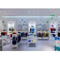 China Beautiful Kids Boutique Retail Fixtures / Retail Store Equipment With Drawers wholesale