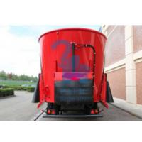 China Heavy Duty Mobile Feed Mixer Wagon For Breeding Pasture 185kw Power wholesale