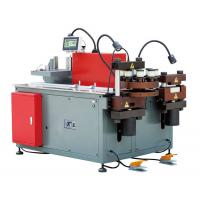 Busduct Production Machine , PLC Control 3 In 1 Busbar Processing Machine