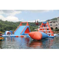 China Giant Inflatable Water Playground Equipment Air Tight Style For Outdoor on sale