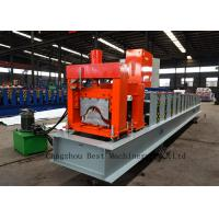 China Aluminum Glazed House Ridge Cap Forming Machine For Roof Building wholesale