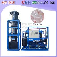China 1000 Kg - 30000 Kg Ice Tube Machine Maker Large Daily Capacity wholesale