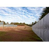 China Construction sound barrier/ Temporary Acoustic Fencing 40dB noise reduction PVC fireproof and Waterproof Jacket wholesale