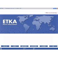 China ETKA Electronic Catalogue V7.5 For Audi VW Seat Skoda wholesale