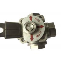 "China CF8M  Stainless Steel 3 way ball valve ""T"" type and ""L"" Type Flow Control wholesale"