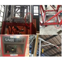 China 5 Rack Modulus Material Lift Elevator , Material Hoisting Equipment With Reduction Ratio 1 / 18 wholesale