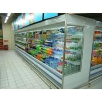 China Energy Drink Multideck Open Chiller , Customize Multideck Display Fridge wholesale