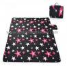 China Portable Picnic Mat Outdoor Leisure Popular Fashion Blanket Black Blue wholesale